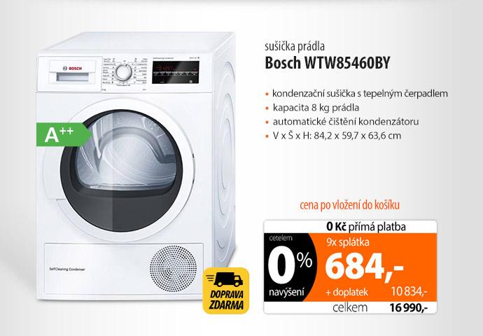 Sušička Bosch WTW85460BY