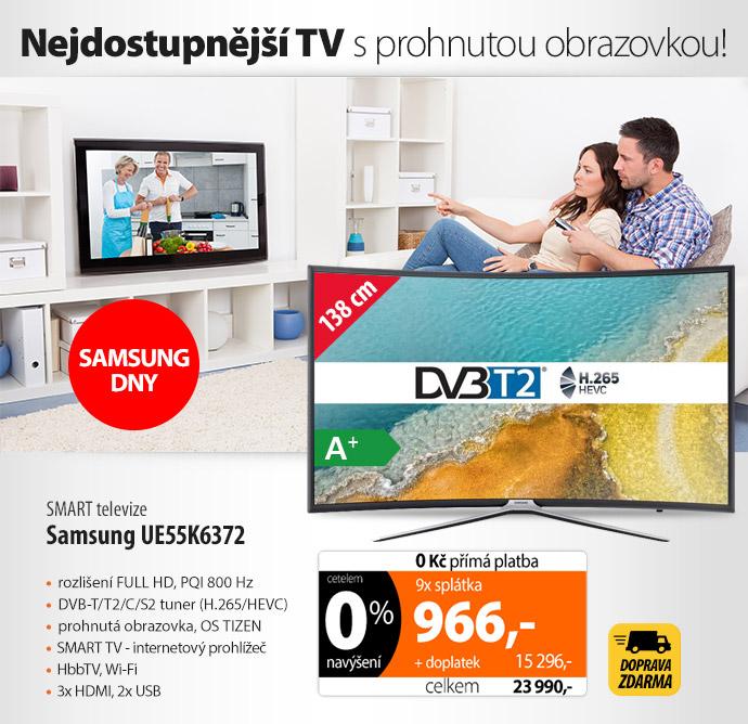 SMART televize Samsung UE55K6372