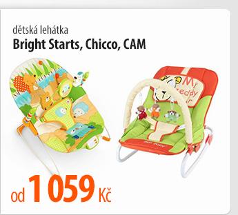 Dětská lehátka Bright Starts, dětská lehátka Chicco, dětská lehátka CAM