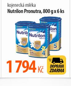 Kojenecká mléka Nutrilon Pronutra