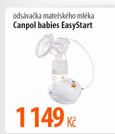 Odsávačka mateřského mléka Canpol babies EasyStart