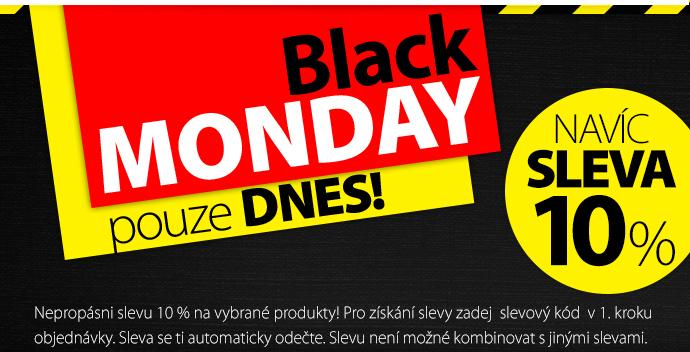 Black Monday pouze dnes!