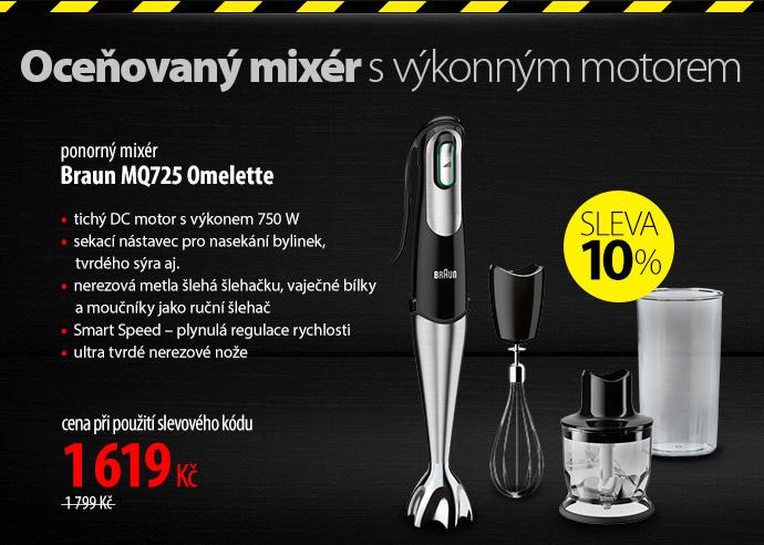 Ponorný mixér Braun MQ725 Omelette