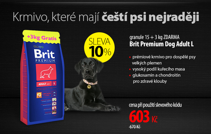 Granule Brit Premium Dog Adult L