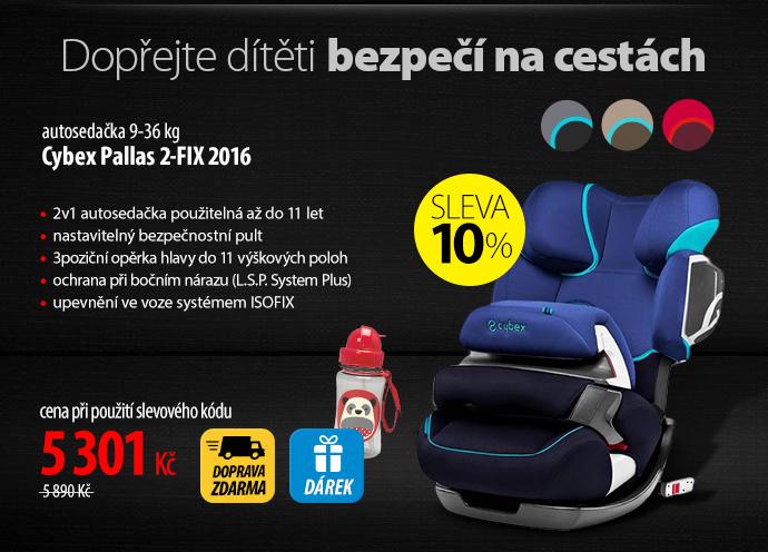 Autosedačka Cybex Pallas 2-FIX 2016