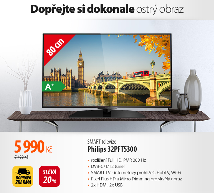Smart TV Philips 32PFT5300