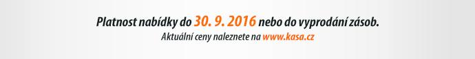 Platnost nabídky do 30. 9. 2016 nebo do vyprodání zásob.