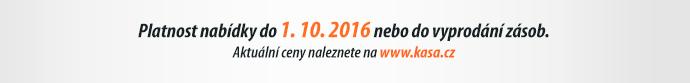 Platnost nabídky do 1. 10. 2016 nebo do vyprodání zásob.