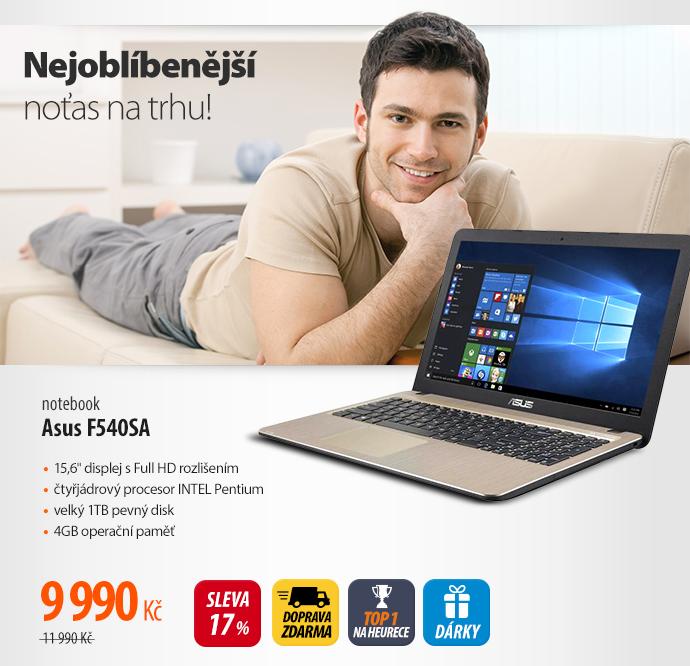 Notebook Asus F540SA