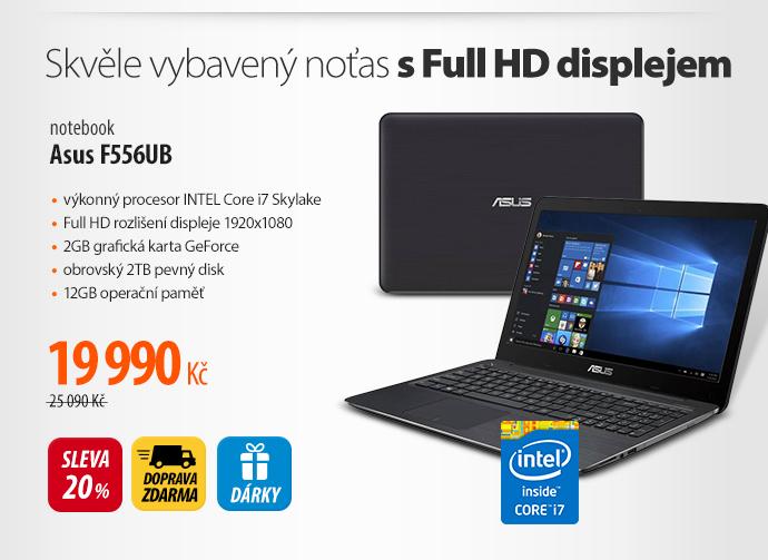 Notebook Asus F556UB