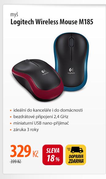 Myš Logitech Wireless Mouse M185