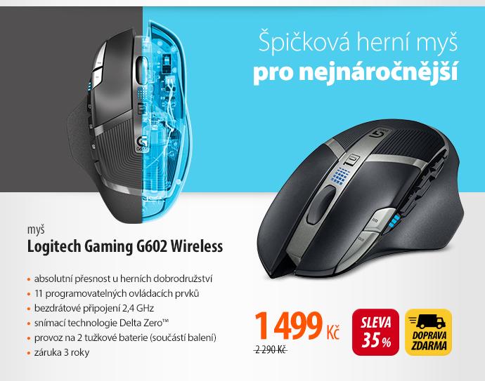 Myš Logitech Gaming G602 Wireless