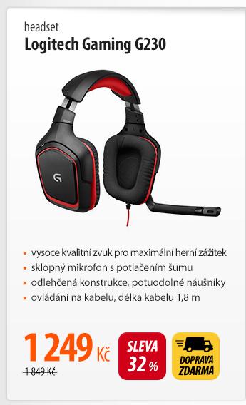 Headset Logitech Gaming G230