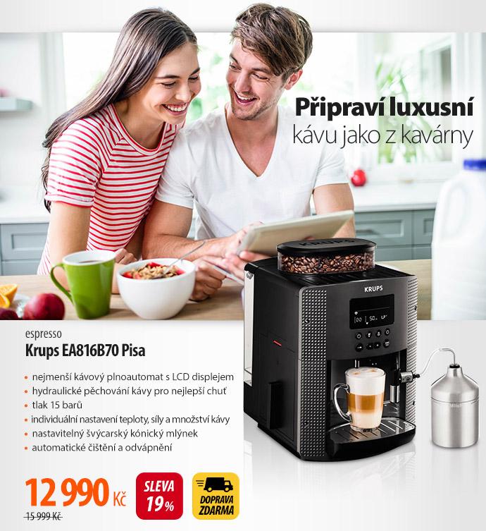 Espresso Krups EA816B70 Pisa