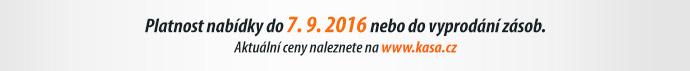 Platnost nabídky do 7. 9. 2016 nebo do vyprodání zásob.