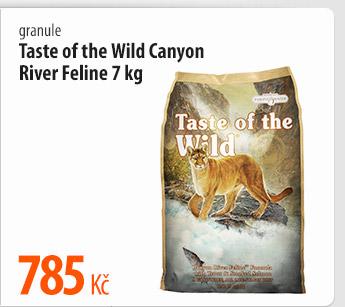 Granule Taste of the Wild Canyon River Feline
