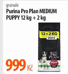 Granule Purina Pro Plan Medium Puppy