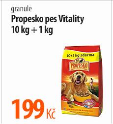 Granule Propesko pes Vitality