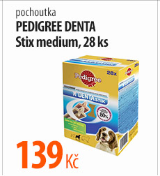 Pamlsky Pedigree Denta Stix medium