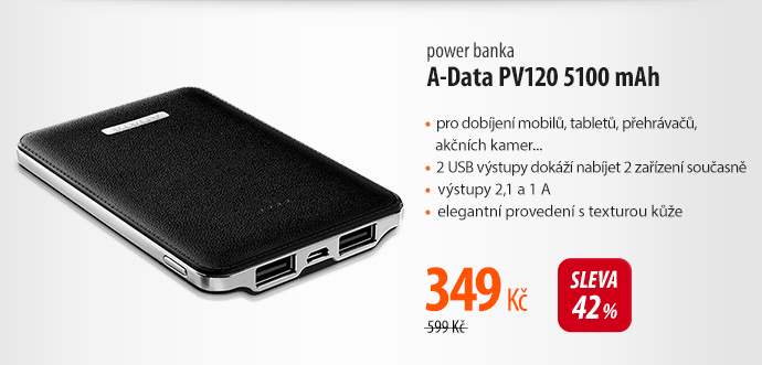 Power banka A-Data PV120