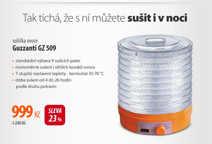 Sušička ovoce Guzzanti GZ 509
