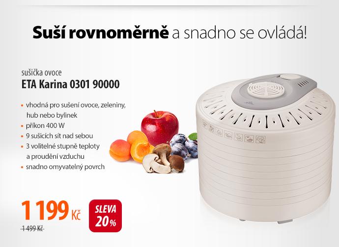 Sušička ovoce ETA Karina 0301 90000