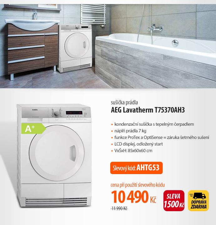 Sušička prádla AEG Lavatherm T75370AH3