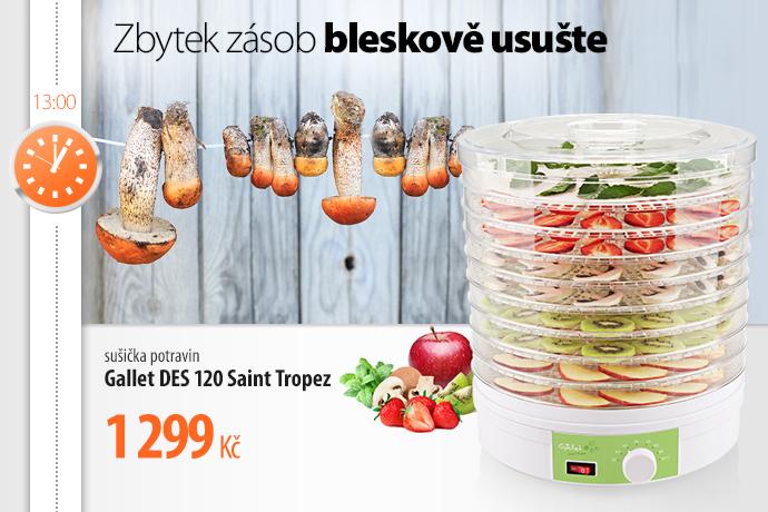Sušička potravin Gallet DES 120 Saint Tropez