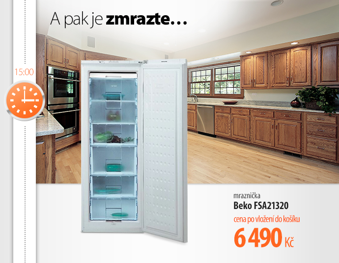 Mrazák Beko FSA21320