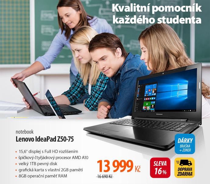 Notebook Lenovo IdeaPad Z50-75