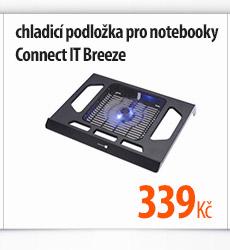 Chladící podložka pro notebooky Contect IT Breeze
