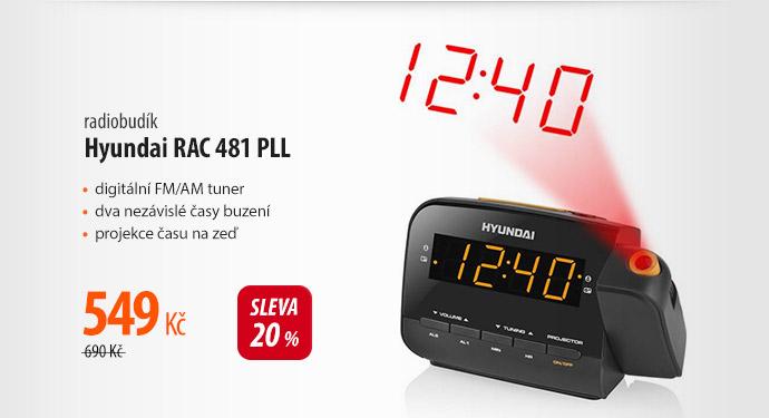 Radiobudík Hyundai RAC 481 PLL