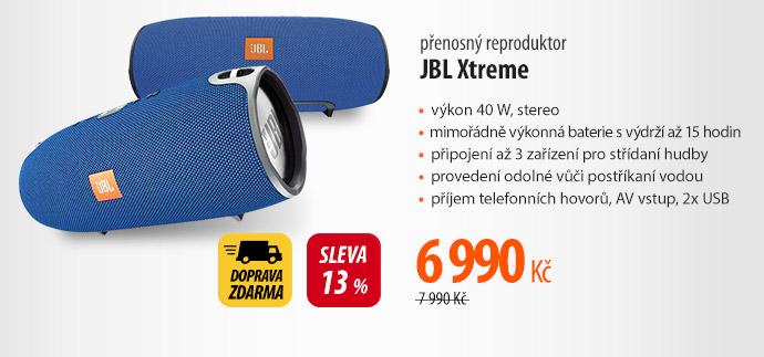 Přenosný reproduktor JBL Xtreme