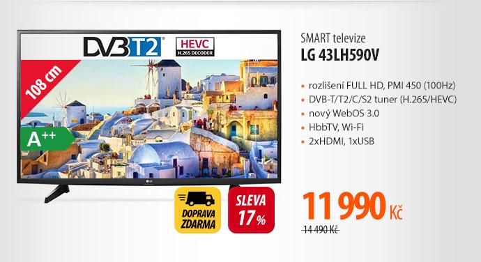 SMART televize LG 43LH590V