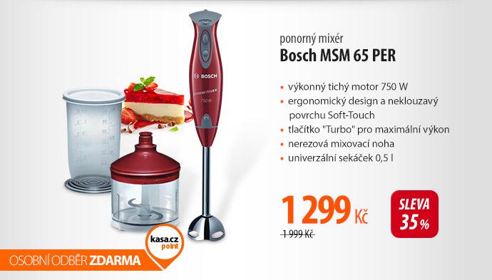 Ponorný mixér Bosch MSM 65 PER