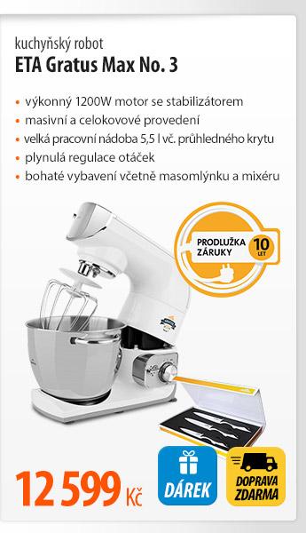 Kuchyňský robot ETA Gratus Max No. 3