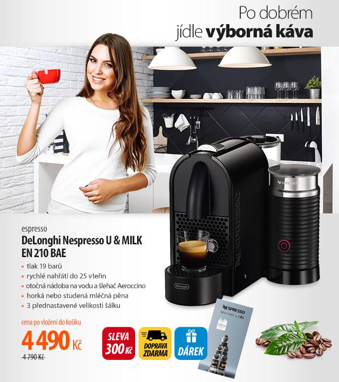 Espreso DeLonghi Nespresso U & Milk EN 210 BAE