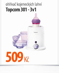 Ohřívač kojeneckých lahví Topcom 301