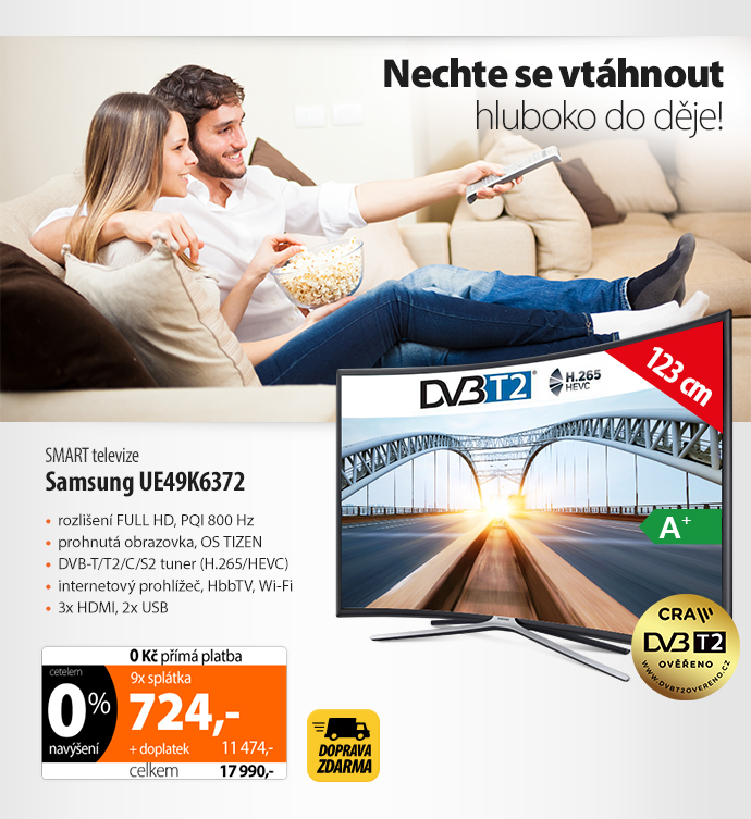 Smart TV Samsung UE49K6372