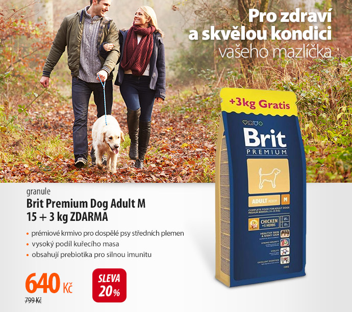 Granule Brit Premium Dog Adult M