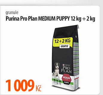 Granule Purina Pro Plan Medium Puppy