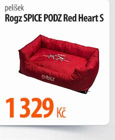Pelíšek Rogz Spice Podz Red Heart