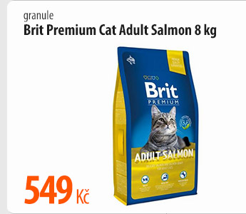 Granule Brit Premium Cat Adult Salmon