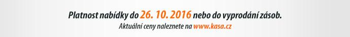 Platnost nabídky do 26. 10. 2016 nebo do vyprodání zásob.