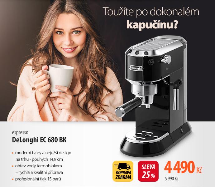 Espresso DeLonghi EC 680 BK