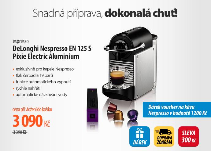 Espresso DeLonghi Nespresso EN 125 S