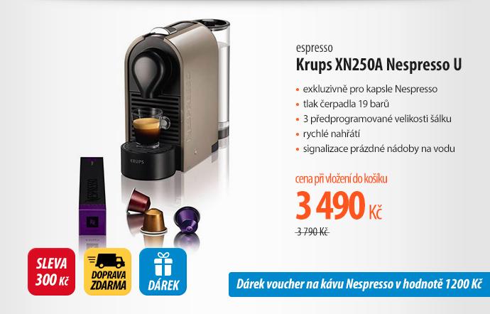 Espresso Krups XN250A Nespresso U