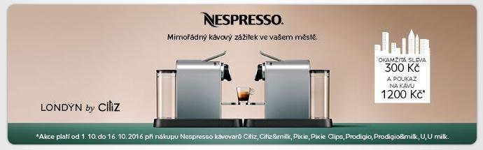 Nespresso s dárkem