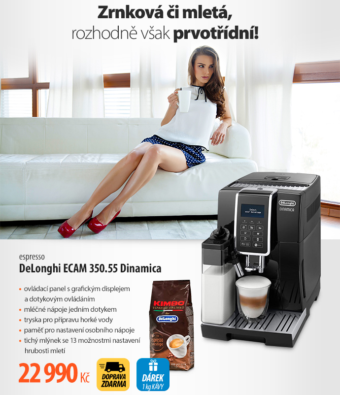 Espresso DeLonghi ECAM 350.55 Dinamica