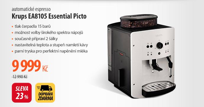 Espresso Krups EA8105 Essential Picto